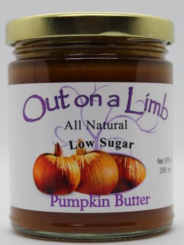 Low Sugar Pumpkin Butter