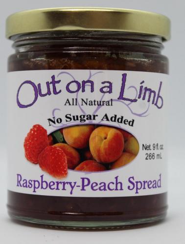 No Sugar Added Raspberry-Peach Spread