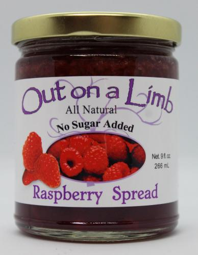 No Sugar Added Raspberry Spread