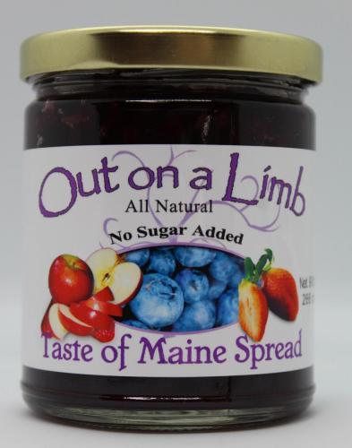 No Sugar Added Taste of Maine Spread
