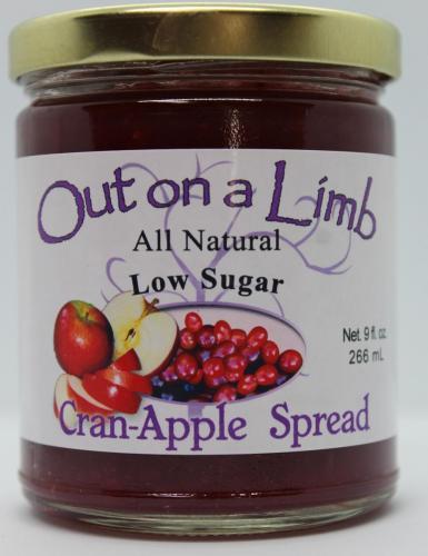 Low Sugar Cran-Apple Spread